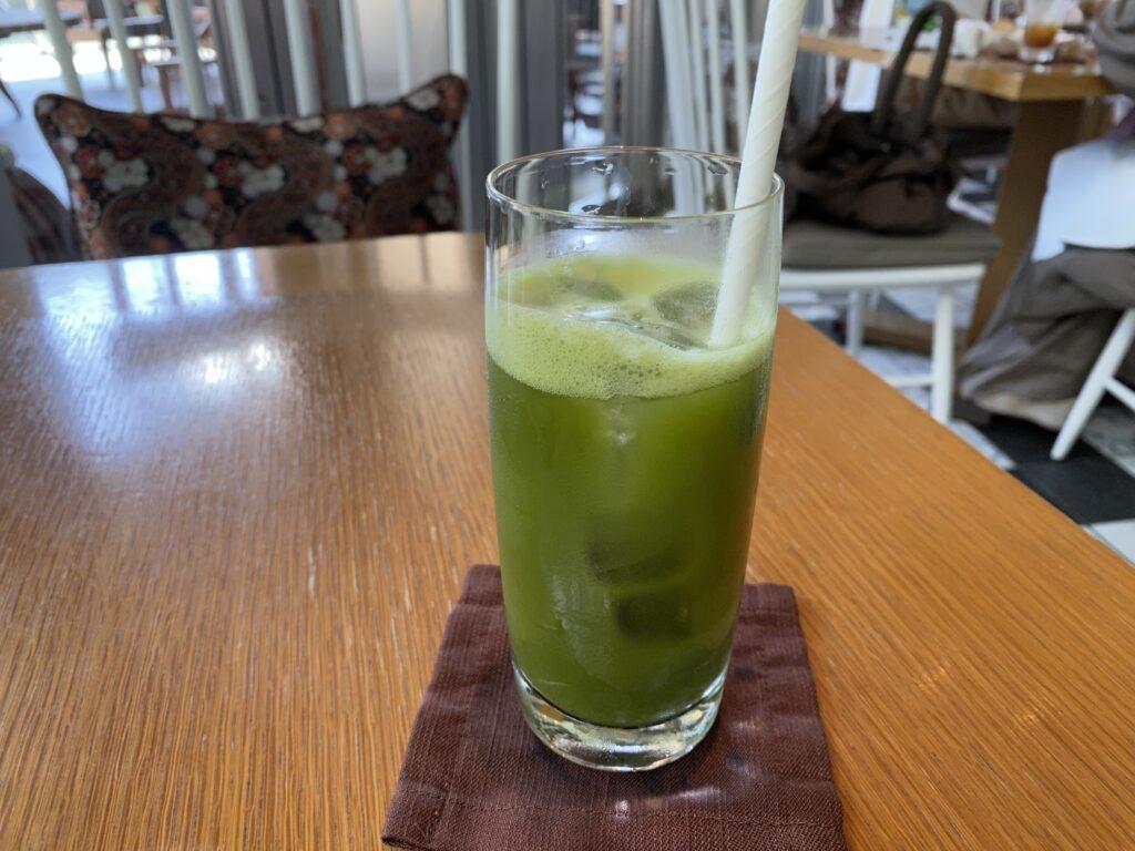 パレスホテル 柚子抹茶